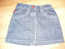 Riflová sukně zn.marks&spencer, vel. 116, marks & spencer,116