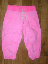 Růžové 3/4 kalhoty 128 h&m, h&m,128