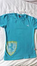 Tyrkysové triko puma, puma,164