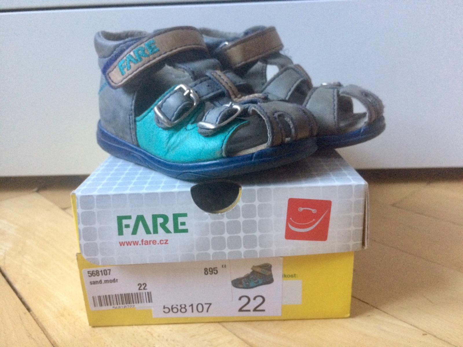 83d77e86de8 Dětské sandálky fare vel.22