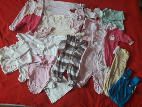 Oblečení pro miminko 0-3 měsíce,