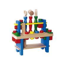 Dřevěná dětská dílna baby mix,