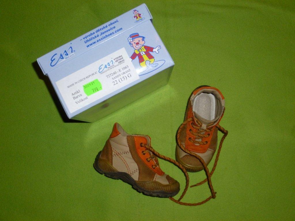 Celoroční kožené boty b9bd651eb9