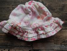 Bavlněný klobouček, mothercare,68