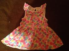 Dívčí šaty - šatičky růže - puntíky, f&f,62