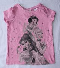 X69. tričko s princeznami 1-1,5 let, next,86