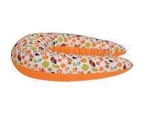 Kojicí polštář matýsek - beruška oranžová,