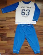 Pyžamu modré, lupilu,86