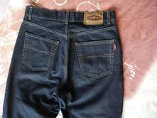 Kalhoty, jeans s vysokým pasem, l