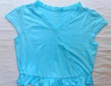 A252. modré tričko 13-14 let, cherokee,164