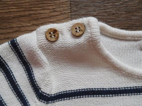 Pruhovaný svetr vel. 98/104 pro dvojčata, kappahl,98
