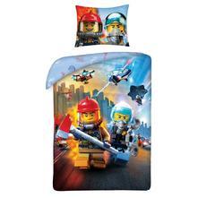 Dětské povlečení 140x200 lego city-skladem, doh-12, 140,200