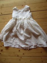 Bílé slavnostní šaty, ladybird,104