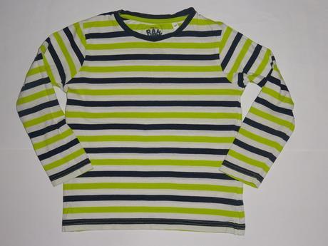 Pruhované tričko, délka 44,5 cm, palomino,116