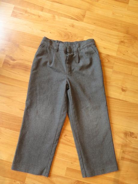 Společenské chlapecké kalhoty 4-5 let, 110