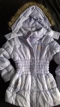 Vel. 140 fialková zimní bunda, 140