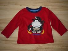 Lehká mikina/vršek od pyžama s opicí, primark,98