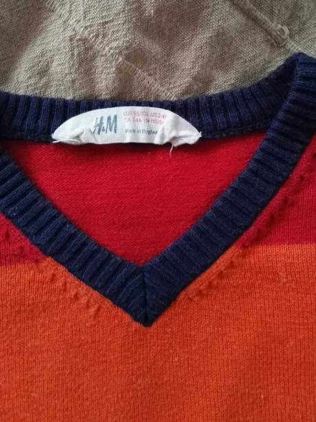 Barevný svetr, h&m,98