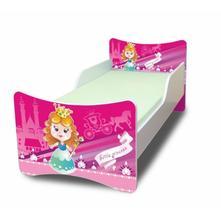 Dětská postel malá princezna, 70,140