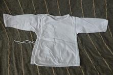 Bílé tričko na zavazování , 62