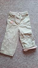 Zateplené kalhoty, next,92
