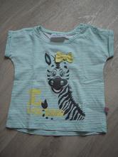 P626 tričko se zebrou, kik,68