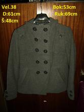 Dámský kabát, timeout,38