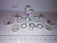 Porcelánový mini servis,