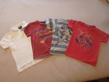 4x triko, tričko, vel. 116, 116