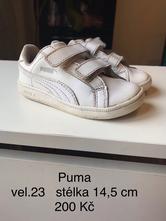 Puma bílé tenisky, puma,23