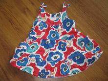 Květované šaty, next,80