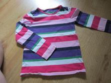 Veselé pruhované tričko, h&m,122