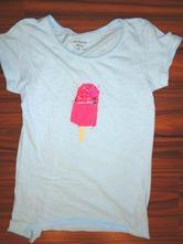 Super tyrkysové tričko s flitrovým nanukem, alive,152