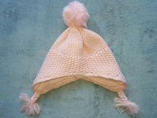 Pletená čepička podšitá bavlnou zn. f&f, f&f,74