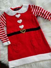 Vánoční šaty 86-92, 86