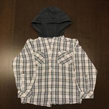 Chlapecká košile s kapucou c&a vel. 110, c&a,110