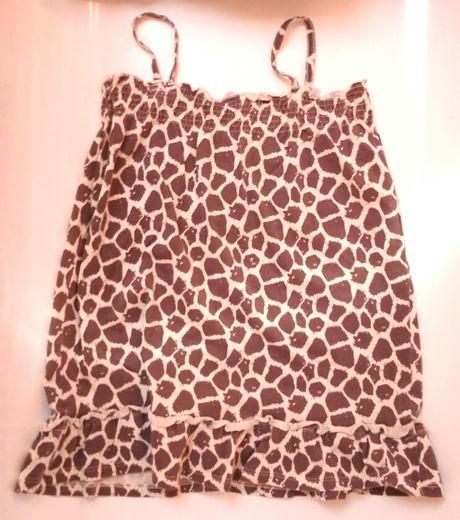 E254 - tenké bavlněné šaty, f&f,116