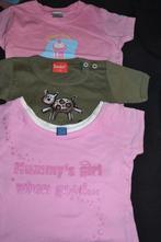 3x dívčí bavlněná trička next 6/12 měs., next,74