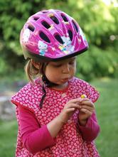 Cyklistická helma hello kitty s (48-52cm),