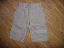 Hnědé kalhoty next na 3-6m-vel.68, next,68