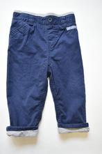 Podšité plátěné kalhoty, m&co,74
