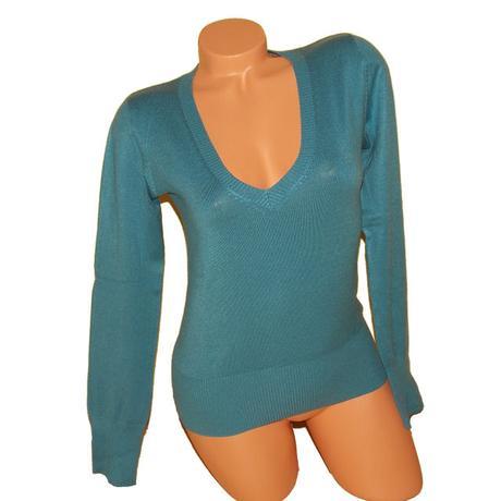Modrý svetr benetton vel.m(38), benetton,m