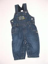 L33 podšité jeans vel. 74, bluezoo,74