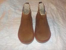 Dětské kotníčkové kožené boty, marks & spencer,23