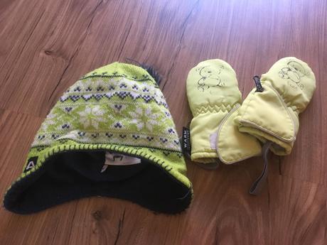 Zimní set čepice a rukavic, alpine pro,104