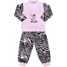 Dětské bavlněné pyžamo new baby zebra růžové, new baby,74 - 128