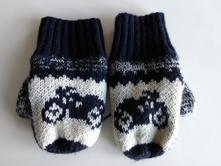 Pletené rukavice č.1074a, gap