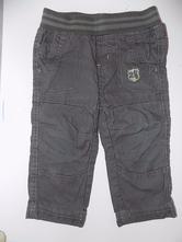 Plátěné podšité kalhoty - vel. 80 - dopodopo, dopodopo,80