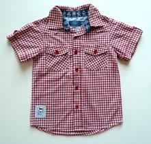 Košile s krátkým rukávem vel. 98, tu,98