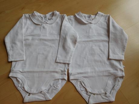 Body lindex vel. 80 pro dvojčata, 80